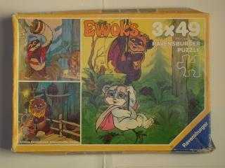 Les puzzles 80's de D.A, séries ou de  gamme de jouets.... Ewoks10