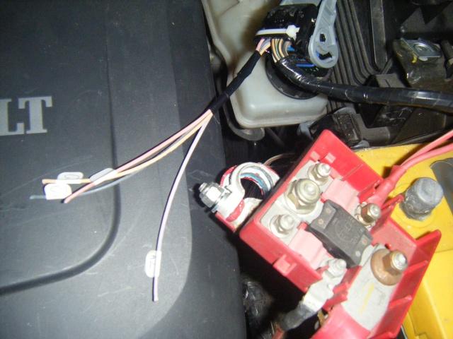 Montage du régulateur limiteur sans pré câblage Dscf0517