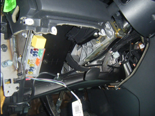 Montage du régulateur limiteur sans pré câblage Dscf0519