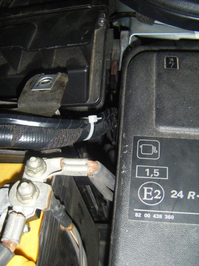 Montage du régulateur limiteur sans pré câblage Dscf0530