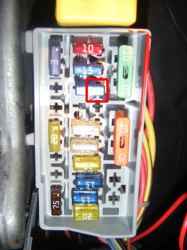 Montage du régulateur limiteur sans pré câblage Dscf0611