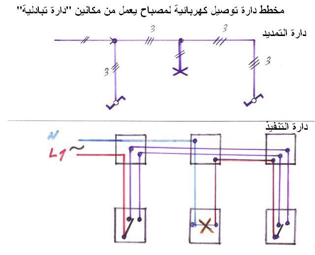 مخطط دارة الدركسيون - الدارة التبادلية 810