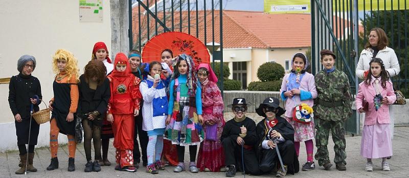Carnaval dos Alunos do 1.º Ciclo - 2008 Alunos10