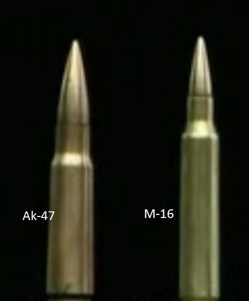 Fusiles de Asalto M-16 vs Ak-47 Dibujo10