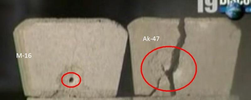 Fusiles de Asalto M-16 vs Ak-47 Poder10
