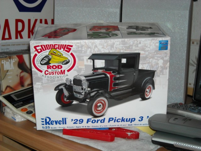 Ford '29 pick-up 114
