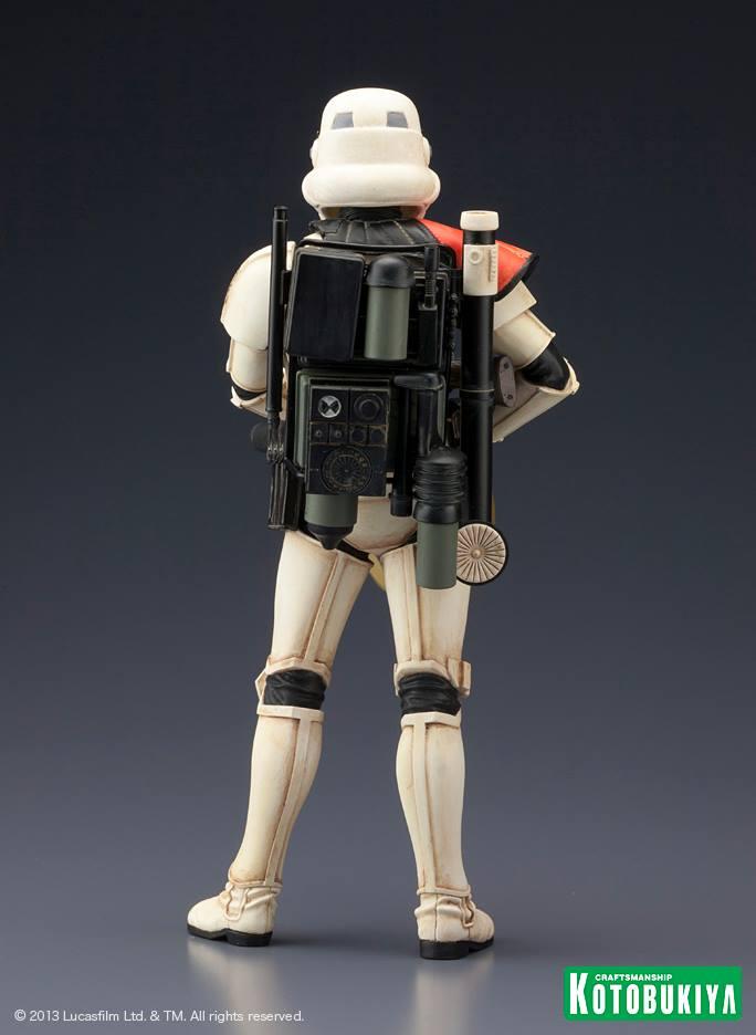 Star Wars Sandtrooper Squad Leader Two Pack ARTFX+ Statue 10001910
