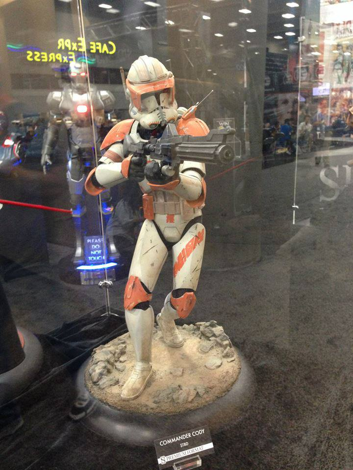 Sideshow Collectible Commander Cody Premium Format  10024510