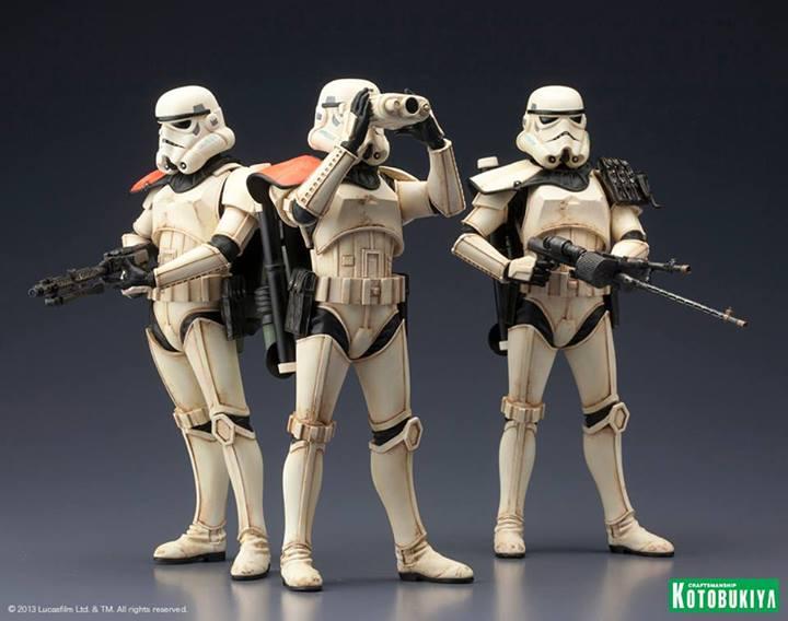 Star Wars Sandtrooper Squad Leader Two Pack ARTFX+ Statue 10141511