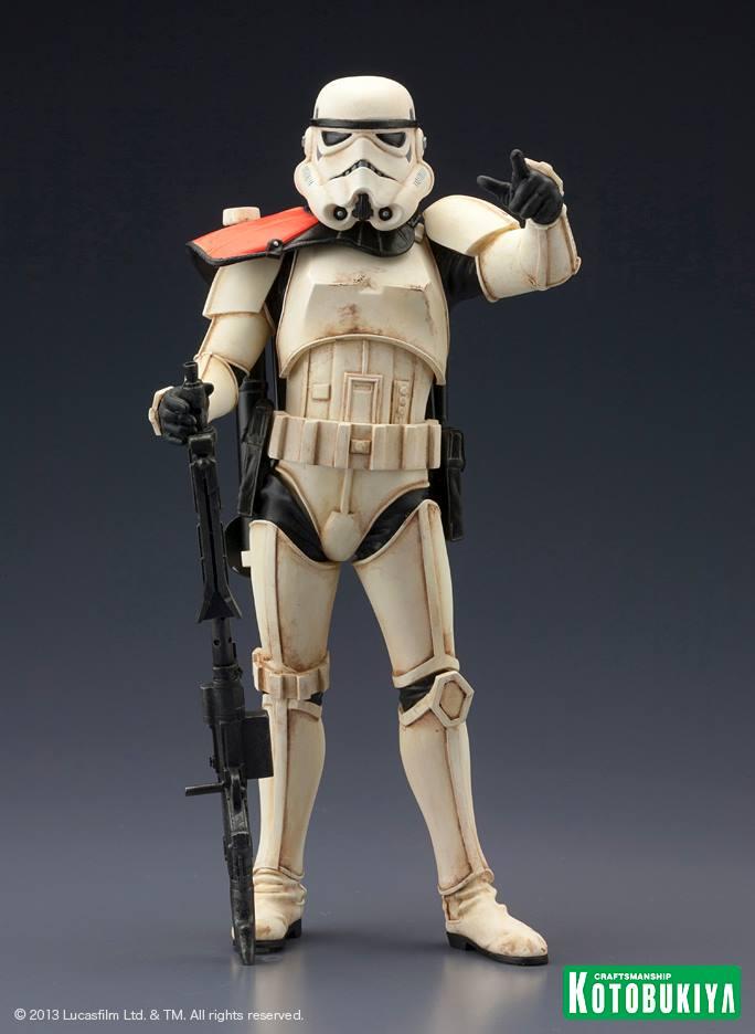 Star Wars Sandtrooper Squad Leader Two Pack ARTFX+ Statue 93649910