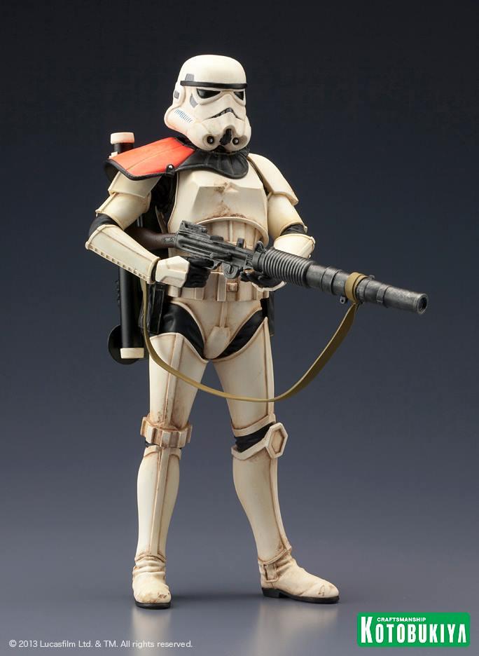 Star Wars Sandtrooper Squad Leader Two Pack ARTFX+ Statue 94509110