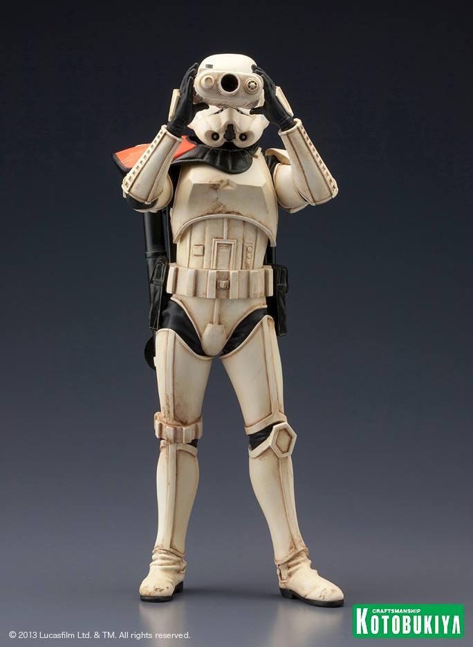 Star Wars Sandtrooper Squad Leader Two Pack ARTFX+ Statue 95464210