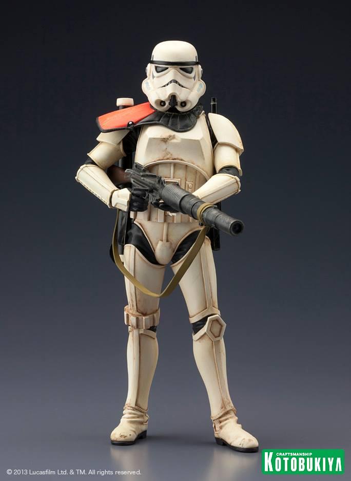Star Wars Sandtrooper Squad Leader Two Pack ARTFX+ Statue 97166710