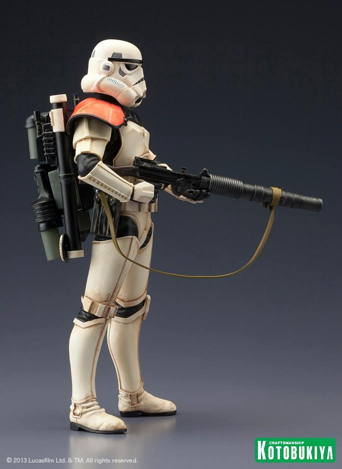 Star Wars Sandtrooper Squad Leader Two Pack ARTFX+ Statue 99650510