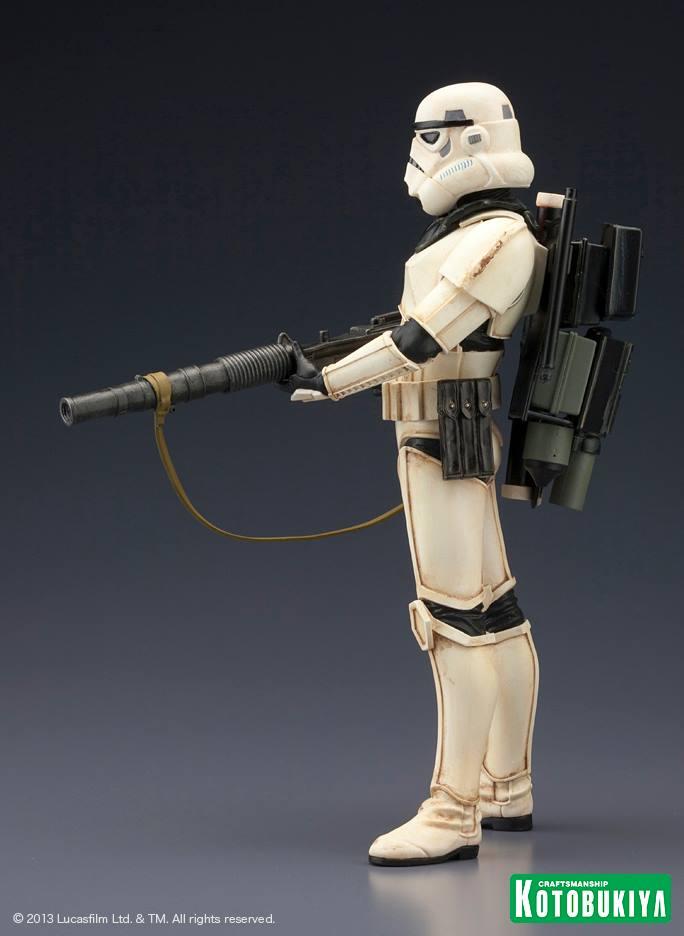Star Wars Sandtrooper Squad Leader Two Pack ARTFX+ Statue 99905610