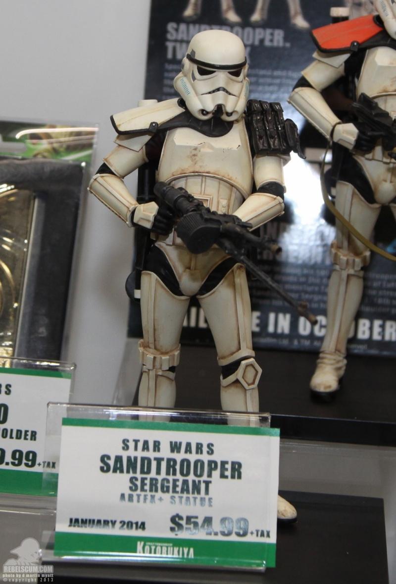 Kotobukiya - Sandtrooper Seargent - ARTFX+ statue Sdcc_210