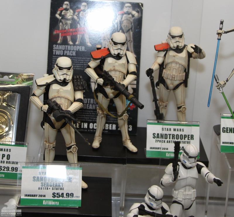Kotobukiya - Sandtrooper Seargent - ARTFX+ statue Sdcc_211