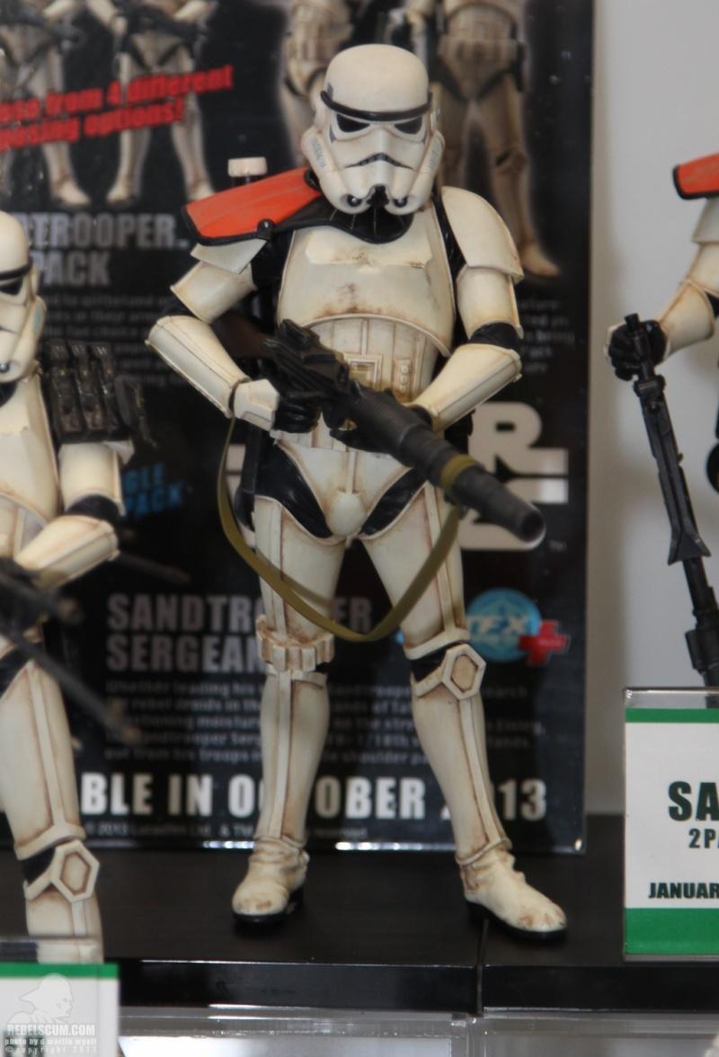 Star Wars Sandtrooper Squad Leader Two Pack ARTFX+ Statue Sdcc_212