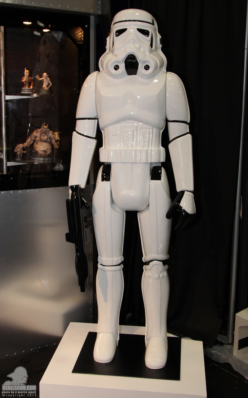 Gentle Giant - Stormtrooper Action Figure Lifesize  Sdcc_223