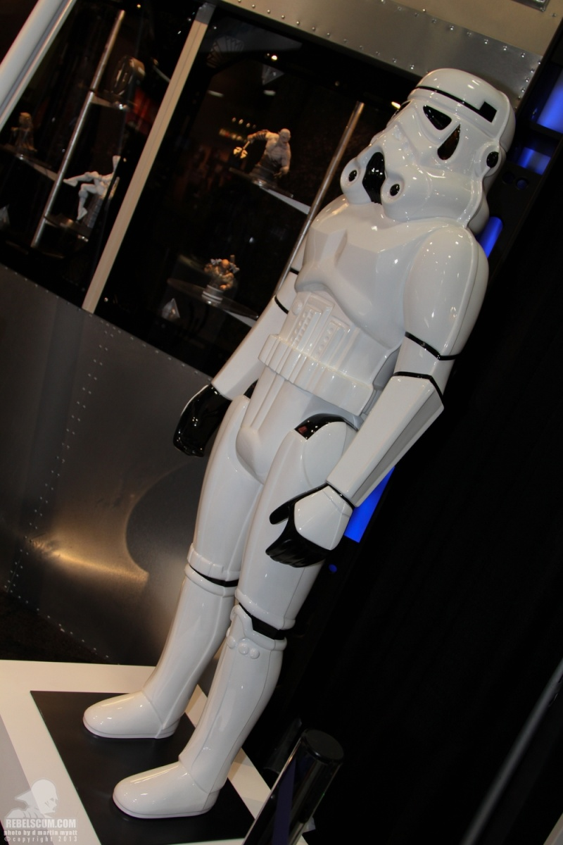Gentle Giant - Stormtrooper Action Figure Lifesize  Sdcc_224