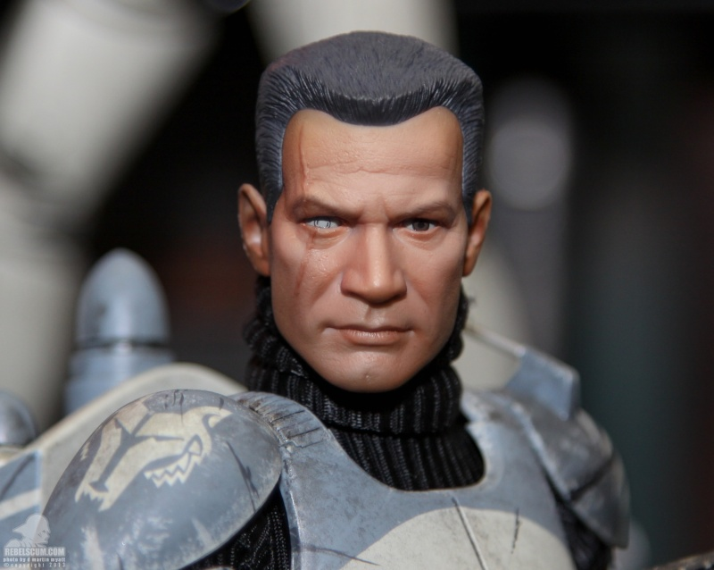 Sideshow Collectibles 1/6 Scale Clone Commander Wolffe  Sdcc_256