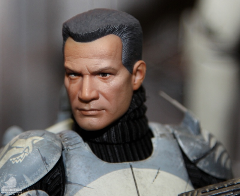 Sideshow Collectibles 1/6 Scale Clone Commander Wolffe  Sdcc_257