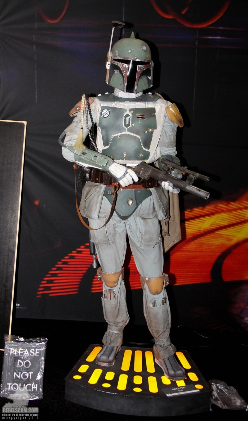 Star Wars - Sideshow - The Boba Fett Life-Size Figure Sdcc_262