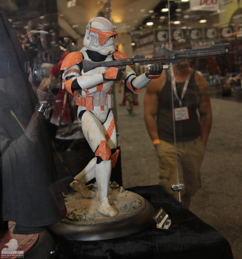 Sideshow Collectible Commander Cody Premium Format  Sdcc_284