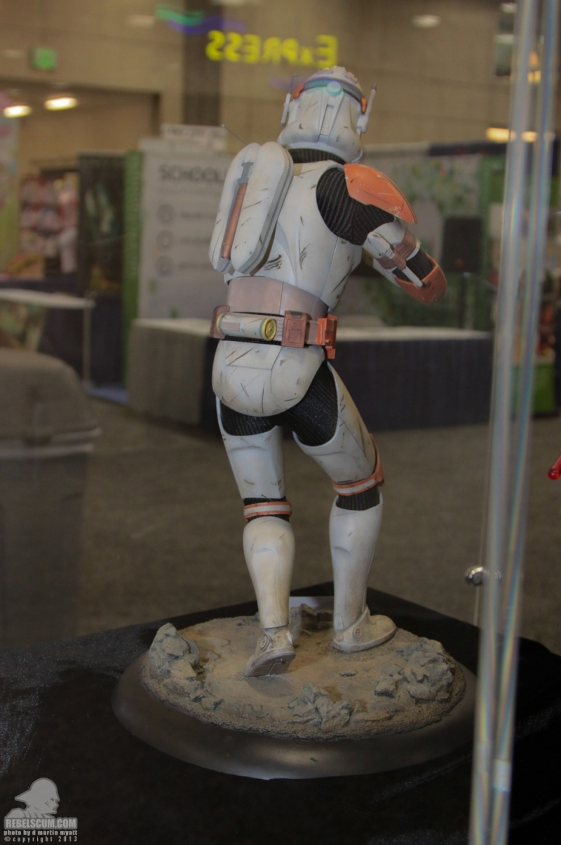 Sideshow Collectible Commander Cody Premium Format  Sdcc_286