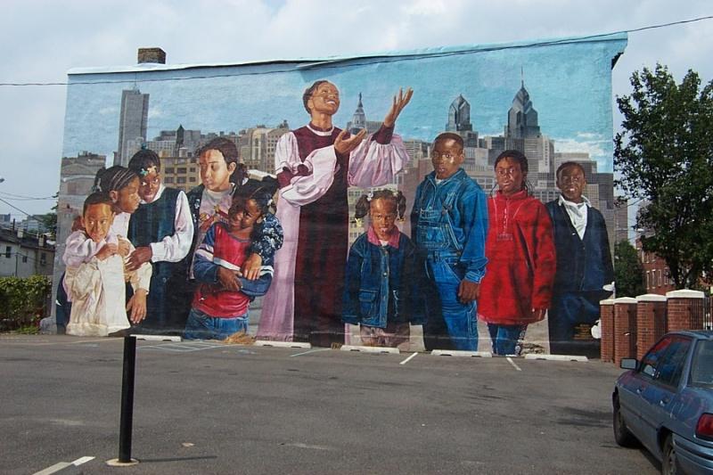 STREETVIEW : les fresques murales de Philadelphie  10435010