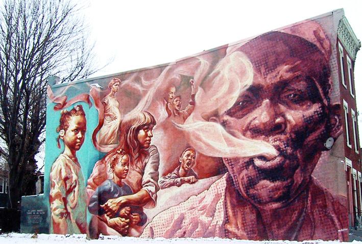 STREETVIEW : les fresques murales de Philadelphie  - Page 2 Antism10