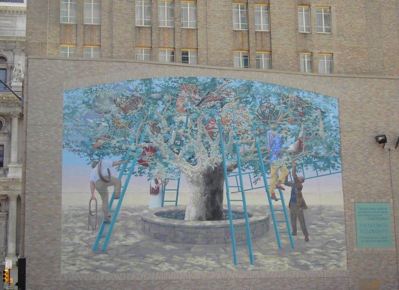 STREETVIEW : les fresques murales de Philadelphie  - Page 2 Arbre_11
