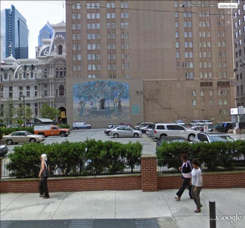 STREETVIEW : les fresques murales de Philadelphie  - Page 2 Arbre_12