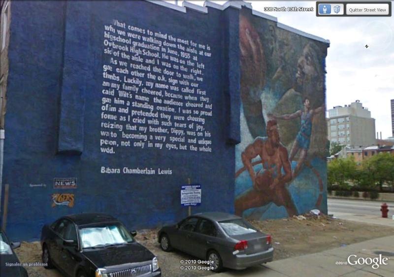 STREETVIEW : les fresques murales de Philadelphie  Chambe10
