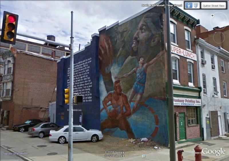 STREETVIEW : les fresques murales de Philadelphie  Chambe11