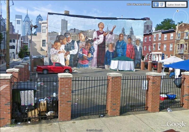 STREETVIEW : les fresques murales de Philadelphie  Childr10