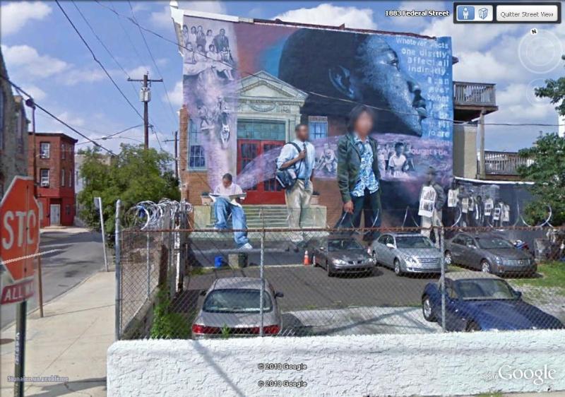 STREETVIEW : les fresques murales de Philadelphie  Civilr10