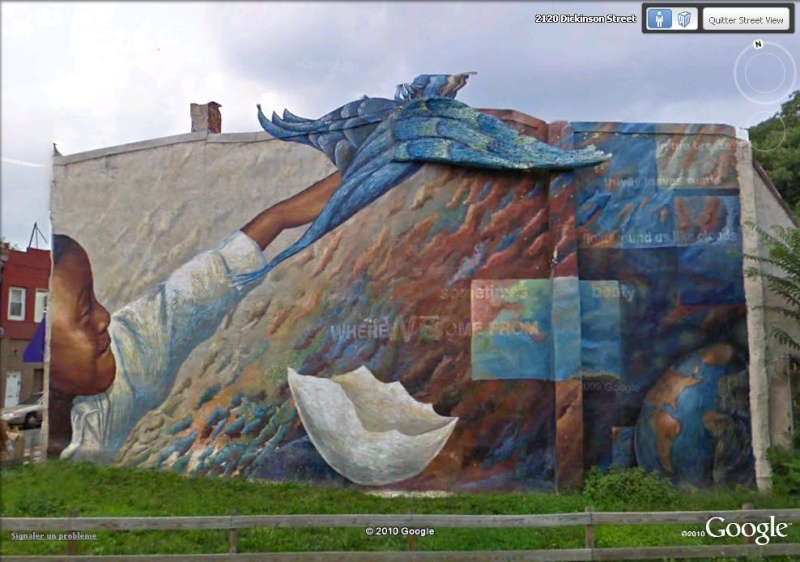 STREETVIEW : les fresques murales de Philadelphie  - Page 2 Dream10