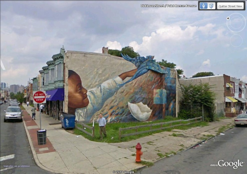STREETVIEW : les fresques murales de Philadelphie  - Page 2 Dream_10
