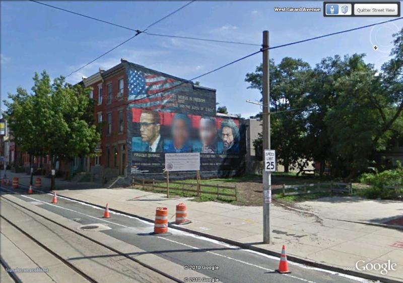 STREETVIEW : les fresques murales de Philadelphie  Freedo10