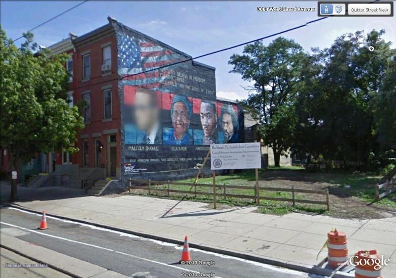 STREETVIEW : les fresques murales de Philadelphie  Freedo11