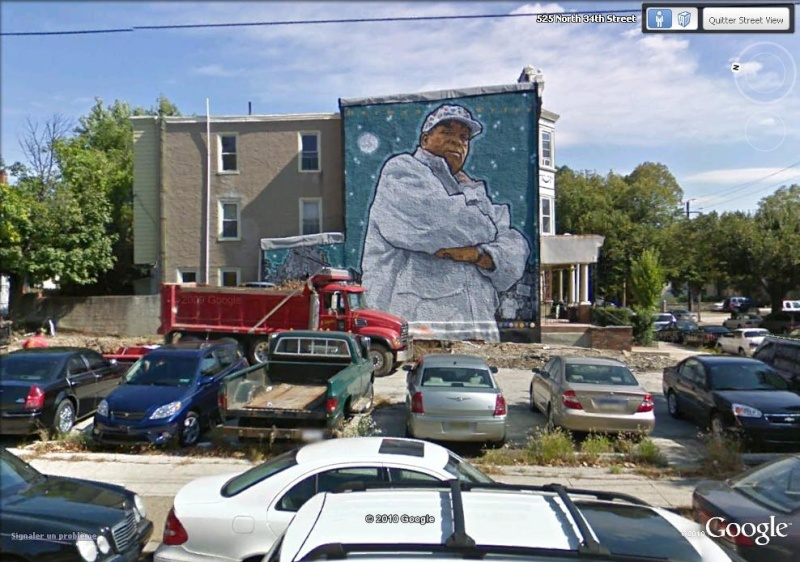 STREETVIEW : les fresques murales de Philadelphie  Herman10