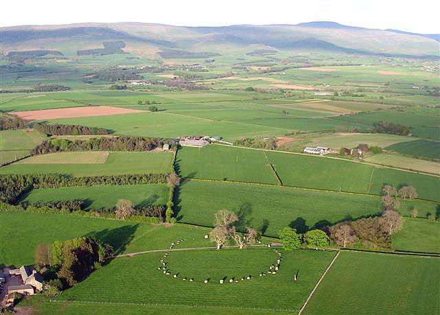 Long Meg and Her Daughters, Little Salkeld, Cumbria, UK Longme10