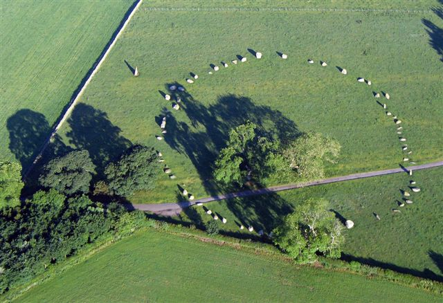 Long Meg and Her Daughters, Little Salkeld, Cumbria, UK Longme11