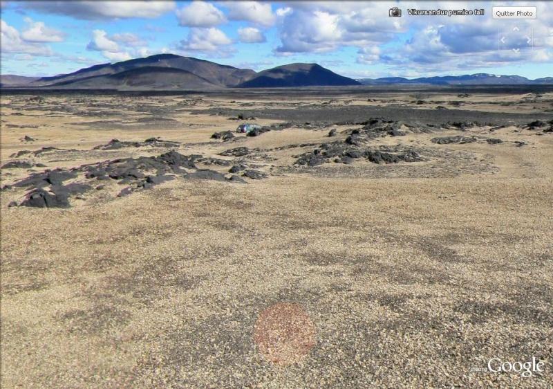 Un morceau de la mer de Tranquilité de 1.6 km² près de Flagstaff - Etats-Unis Lune10