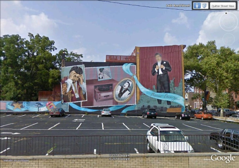 STREETVIEW : les fresques murales de Philadelphie  Mario_10
