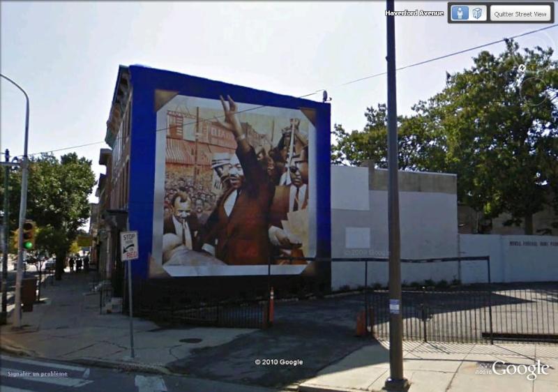 STREETVIEW : les fresques murales de Philadelphie  Mlk10