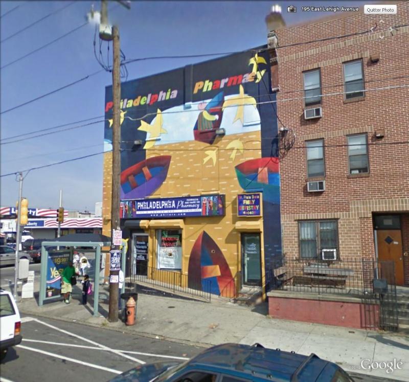 STREETVIEW : les fresques murales de Philadelphie  - Page 2 Pharma10