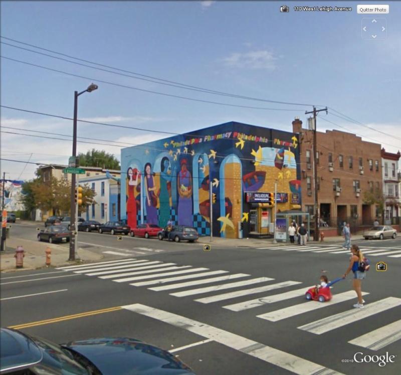 STREETVIEW : les fresques murales de Philadelphie  - Page 2 Philad11