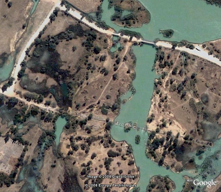 Les ponts du Rio Cunene - Angola Pont110
